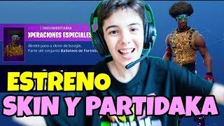 BRAND OPENING SKIN FORTNITE SPECIAL OPERATIONS FUNKY AND PICO TRIFULCA ON THE DISC WITH PARTIDAZA