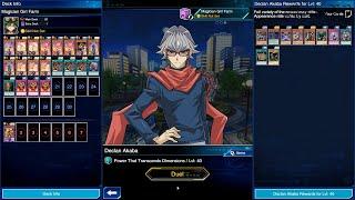 [F2P] Yu-Gi-Oh! Duel Links - Declan Akaba Level 40 Farm w/ Magician Girl (Unlock Event) screenshot 3