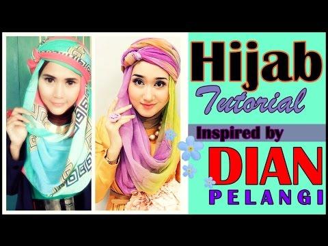 Cara Pakai Jilbab Pashmina Dian Pelangi | Tutoral Hijab Didowardah #43