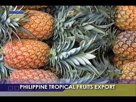 "philippine fruits export study Tropical fruits and vegetables in china  12 scope of the study  year- on-year increase the value of china""s fruit exports was us$."