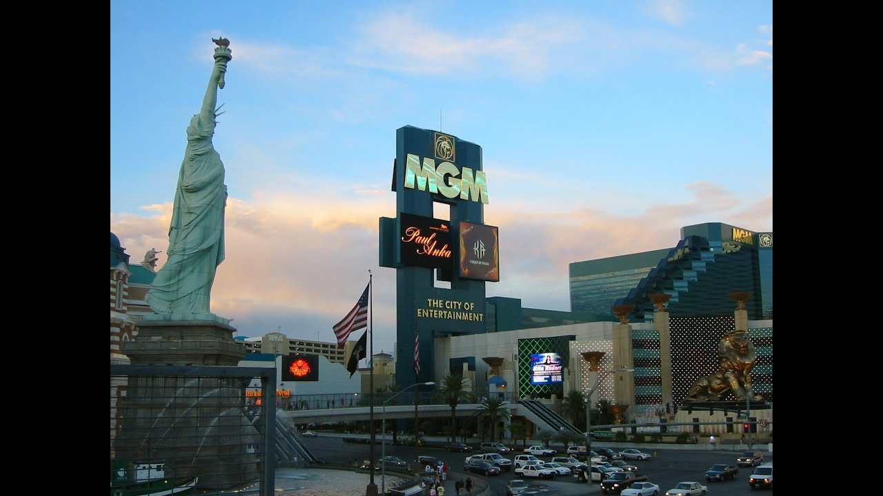 USA Las Vegas MGM Grand Hotel MGM Resorts International Garden