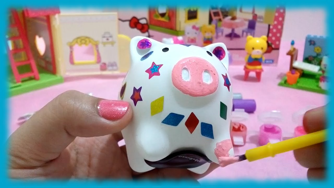 Diy Piggy Bank Melissa And Doug Decorate Your Own Toys World