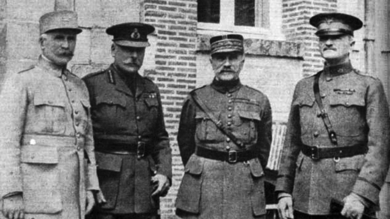 The american expeditionary forces and world