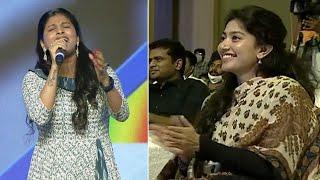 Singer Mangli Superbly Sings Saranga Dariya Song On Stage @ Love Story Success Meet