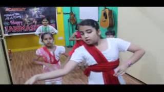 Beginners kathak Performance