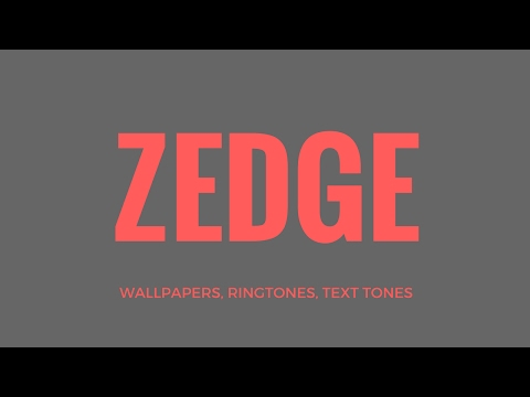 ZEDGE (Free Wallpapers, Ringtones, Text Tones)