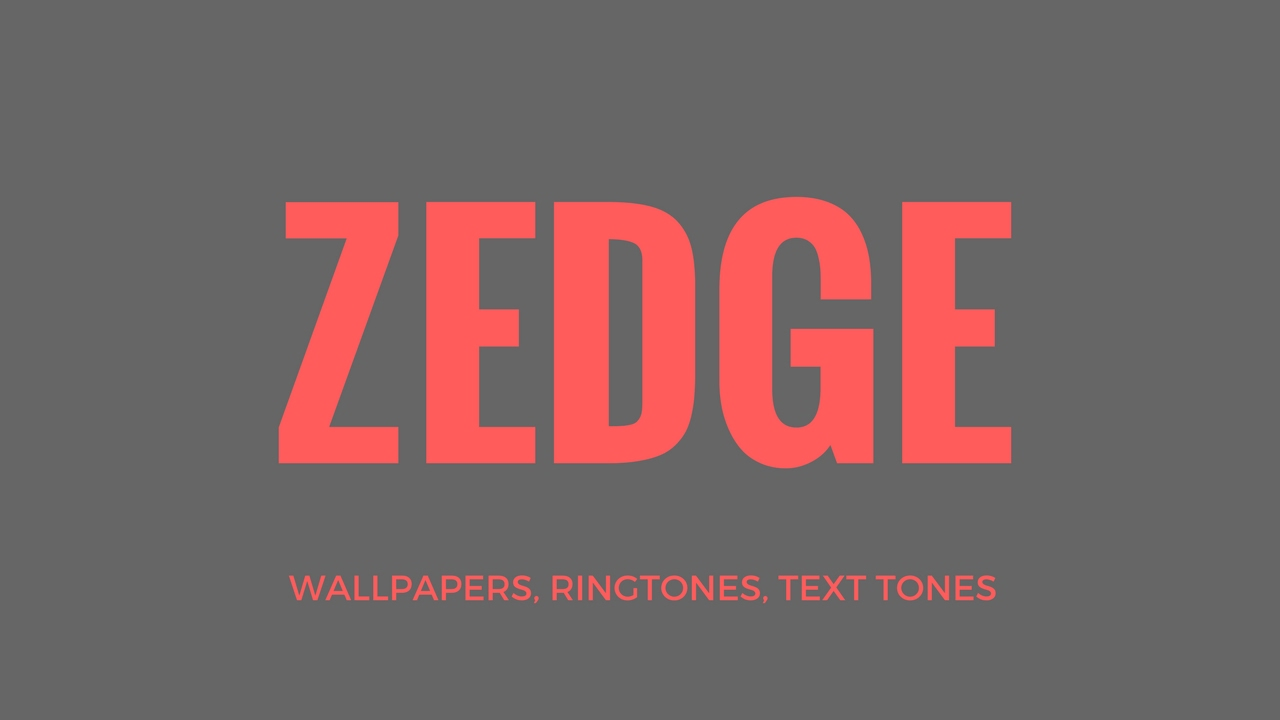 ZEDGE (Free Wallpapers, Ringtones, Text Tones)