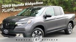 2019 Honda Ridgeline Review | RTL- E