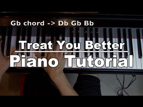"Piano Tutorial - ""Treat You Better"" - Shawn Mendes + Sheet Music   George Vidal Tutorial"
