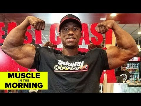 STEVE LAUREUS GOES 212! Muscle in the Morning (5/14/18)