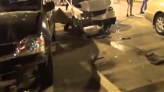 LiveLeak.com - Carjacker Killed by Police After Trying to Ram Through Checkpoint