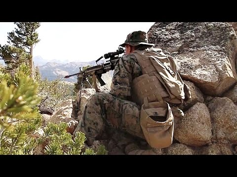 US Marines Mountain Warfare Training