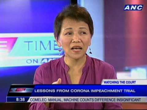 Lessons from Corona impeachment trial