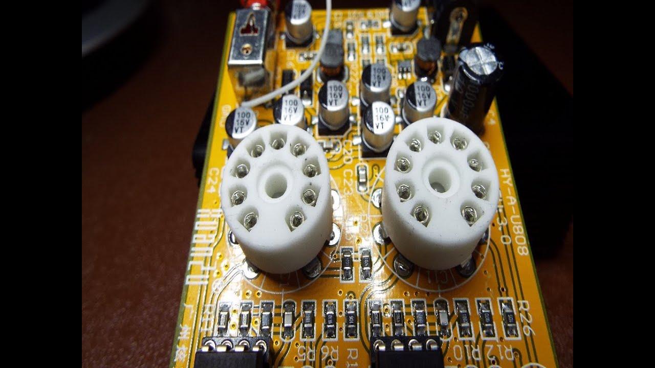Audio Hifi 6J9 mini vacuum valve ebay amp teardown