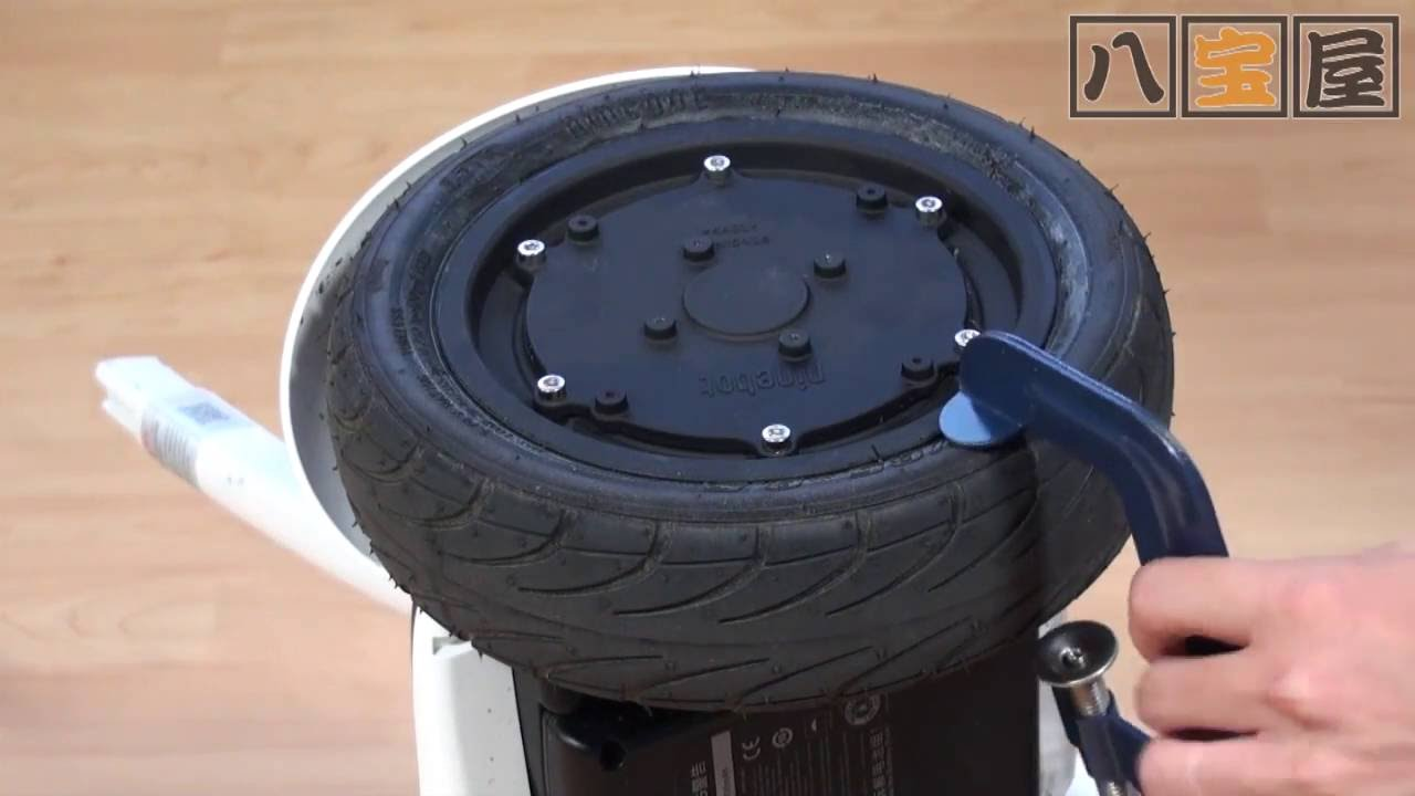 Tire and Motor-Wheel Segway Ninebot Mini and Mini Pro - MINI-J
