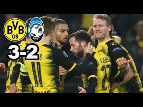 Borussia Dortmund vs Atalanta Bergame - Europa Ligue (3-2) HD