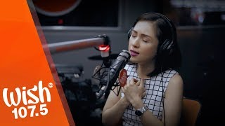 "Princess Velasco performs ""Makita Kang Muli"" (Sugarfree) LIVE on Wish 107.5 Bus"