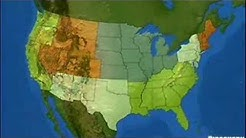 The United States - Location, Size and Regions
