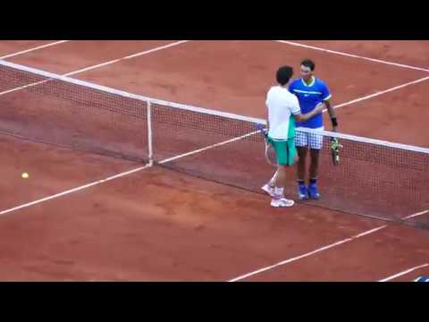 Rafael Nadal vs Dominic Thiem - RG17