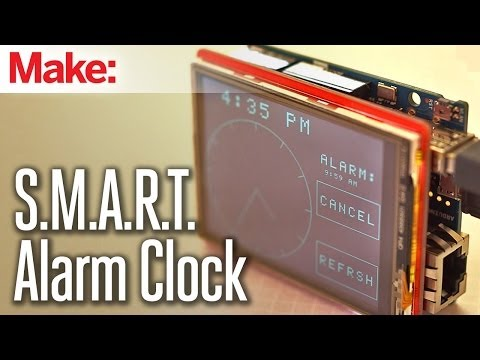 Build an Internet-Connected Alarm Clock with an Arduino
