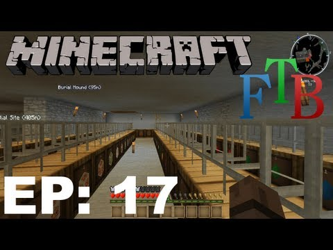 FTB Minecraft EP17 - Barrel & Pipe Sorting System