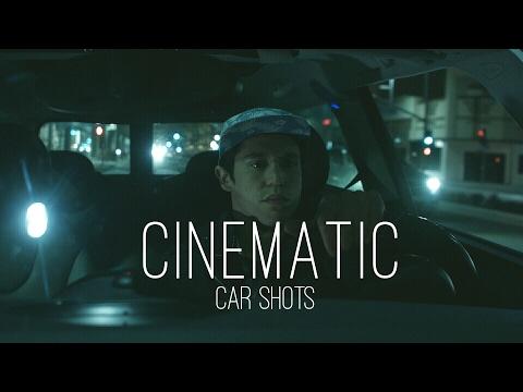 Cómo grabar en interiores de coches escenas de cine