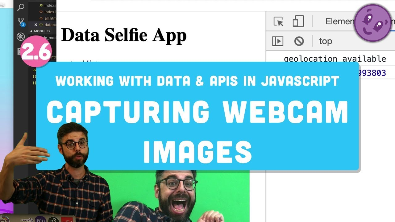 2.6 Saving Images and Base64 Encoding - Working with Data and APIs in JavaScript