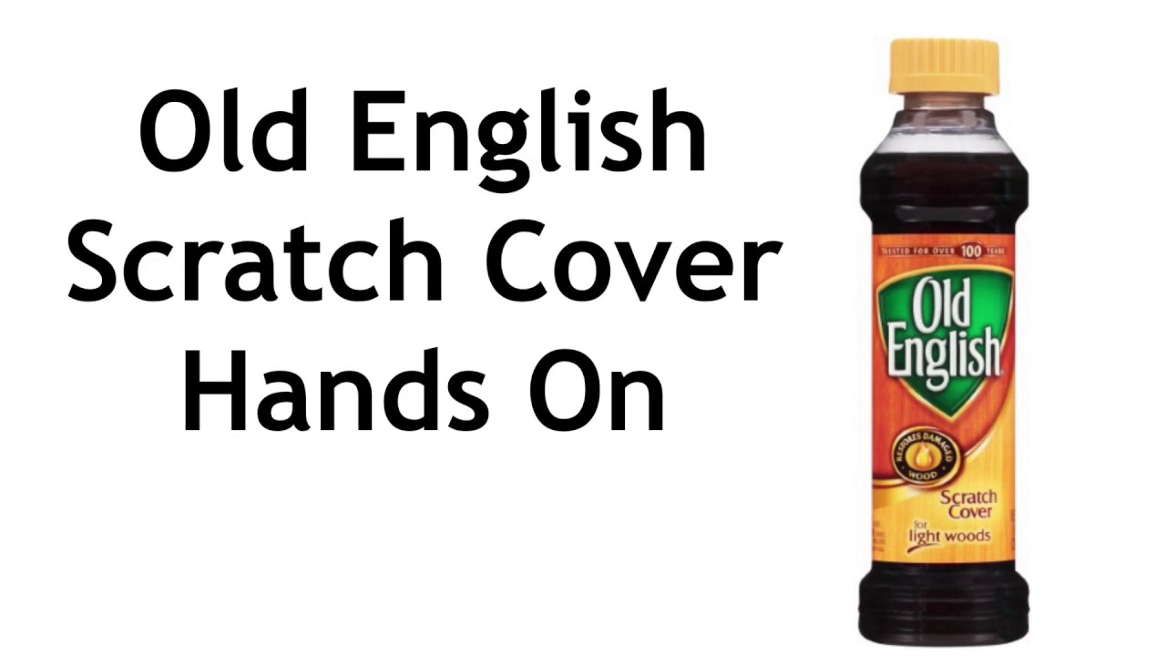 Repair Your Kitchen Cabinets Old English Scratch Cover Hands On Review