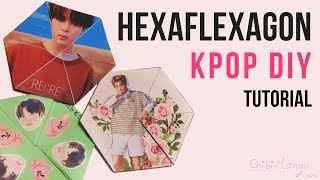 DIY KPOP (BTS) Hexaflexagon TUTORIAL