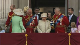 UK Royals join UK Trooping the colour parade