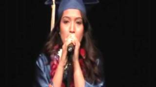 """You Made Me Who I Am"" - Original Graduation Song sung by Angel from Schae"