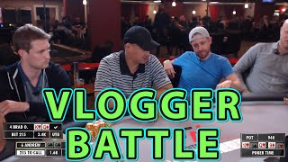 Poker Time: Vloggers Andrew Neeme and Brad Owen get into the action