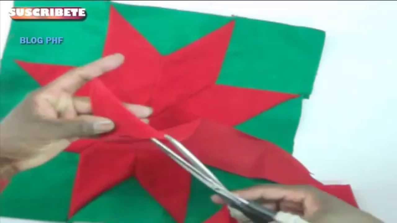 Cojines Navidad Manualidades.Manualidades Para Navidad Como Hacer Un Cojin Con Reciclaje De Tela Todo En Uno