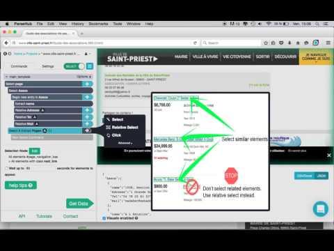 Download Scraping : extraire les données de n'importe quel site sans coder