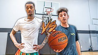 FAZE RUG VS JUNE FLIGHT!! (INTENSE BASKETBALL 1V1)