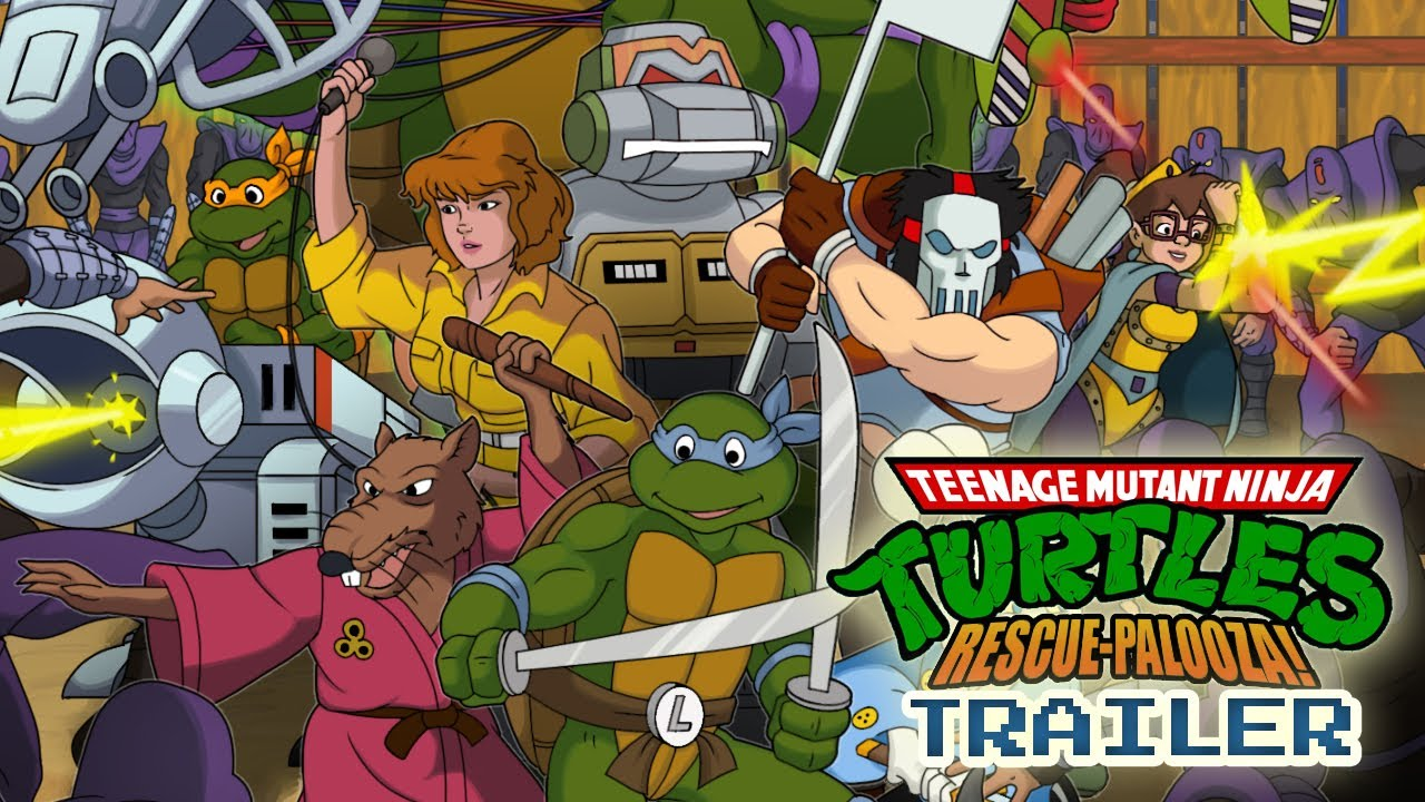 Teenage Mutant Ninja Turtles Fan Game Pays Tribute to Arcade Classic