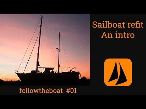 Esper Refit 01 -  introduction to our extensive yacht refit