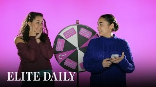 BFFs Swap Phones and Play Text Roulette [Technically Speaking] | Elite Daily