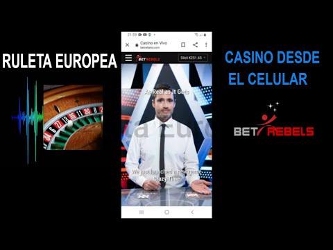Casino Online BetRebels en el Celular 📲 Jugando en la Ruleta Europea