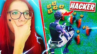 I MET A HACKER IN THE GAME! LOOK WHAT IT'S ALL ABOUT! Fortnite, Fortnite
