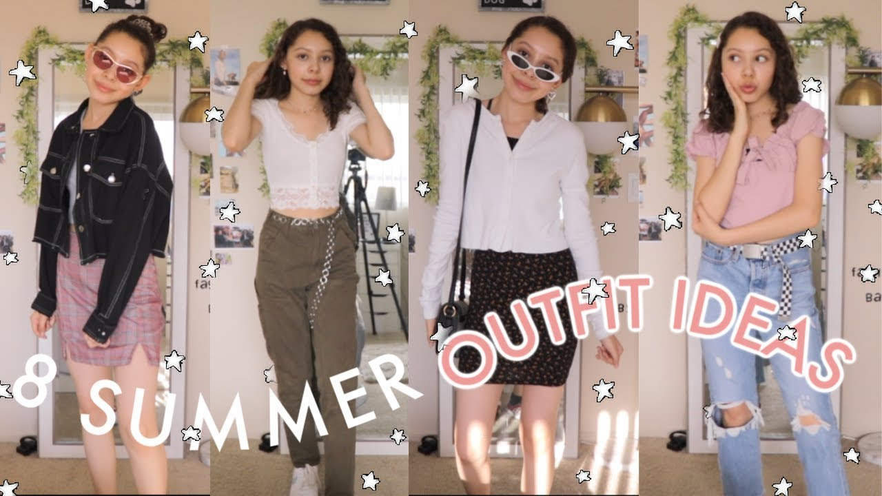 8 Summer Outfit Ideas for when you have nothing to wear! 2