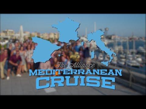 The Alliance 2017 Mediterranean Cruise: Travelogue One