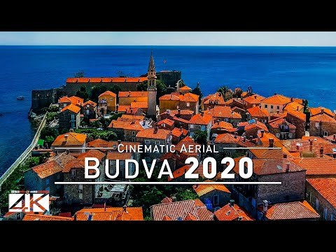 【4K】Drone Footage | Budva - Medieval Old Town At Montenegro's Adria 2019 ..:: Cinematic Aerial Film
