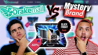 IS DRAKEMALL BETTER THAN MYSTERY BRAND⁉️😱 UNBOXING BLACK FRIDAY ONLINE MYSTERY BOXES!!