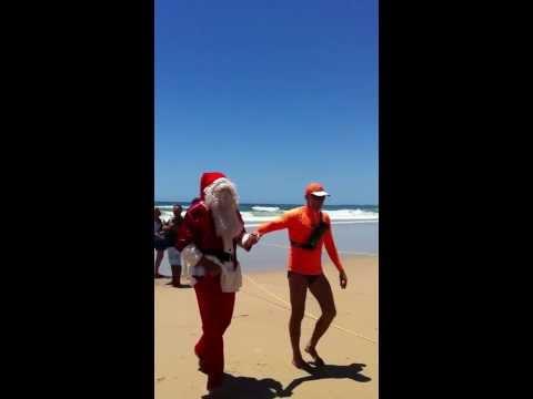 Santa Aussie Style
