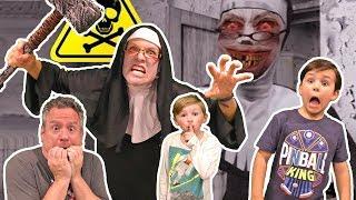 Escape the Evil Nun in Real Life