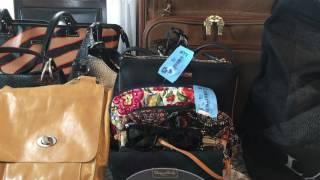 Designer Thrift Haul Purse Wallets Etc Dooney Ferragamo