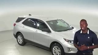 183036 - New, 2018, Chevrolet Equinox, LS, Silver, SUV, Test Drive, Review, For Sale -