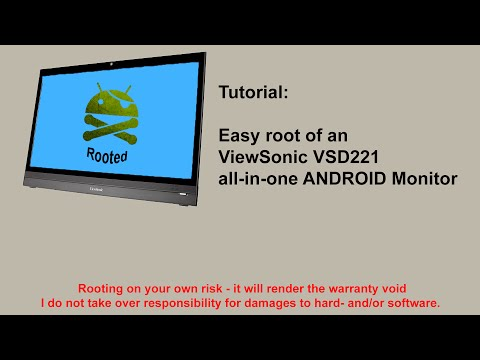 Tutorial - Root ViewSonic VSD221 all in one Android monitor with KingRoot - english