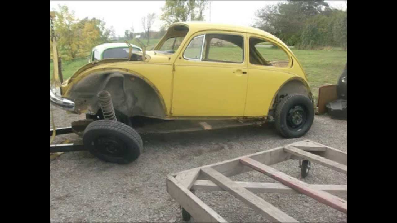 medium resolution of separate vw super beetle body from chassis lastchanceautorestore com youtube